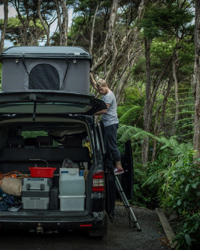 The joys of travelling New Zealand with a camper van