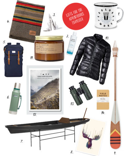 Gift guide for the adventurous traveller