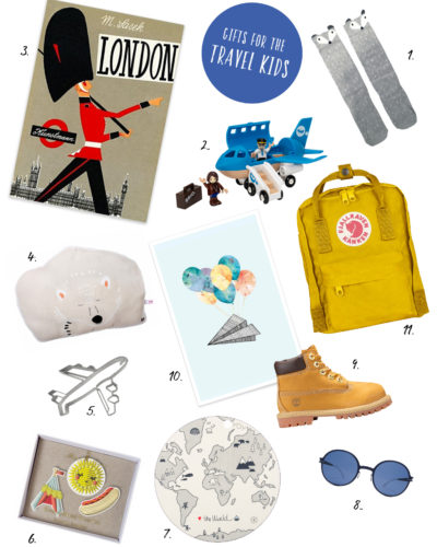 Gift guide for the little traveller