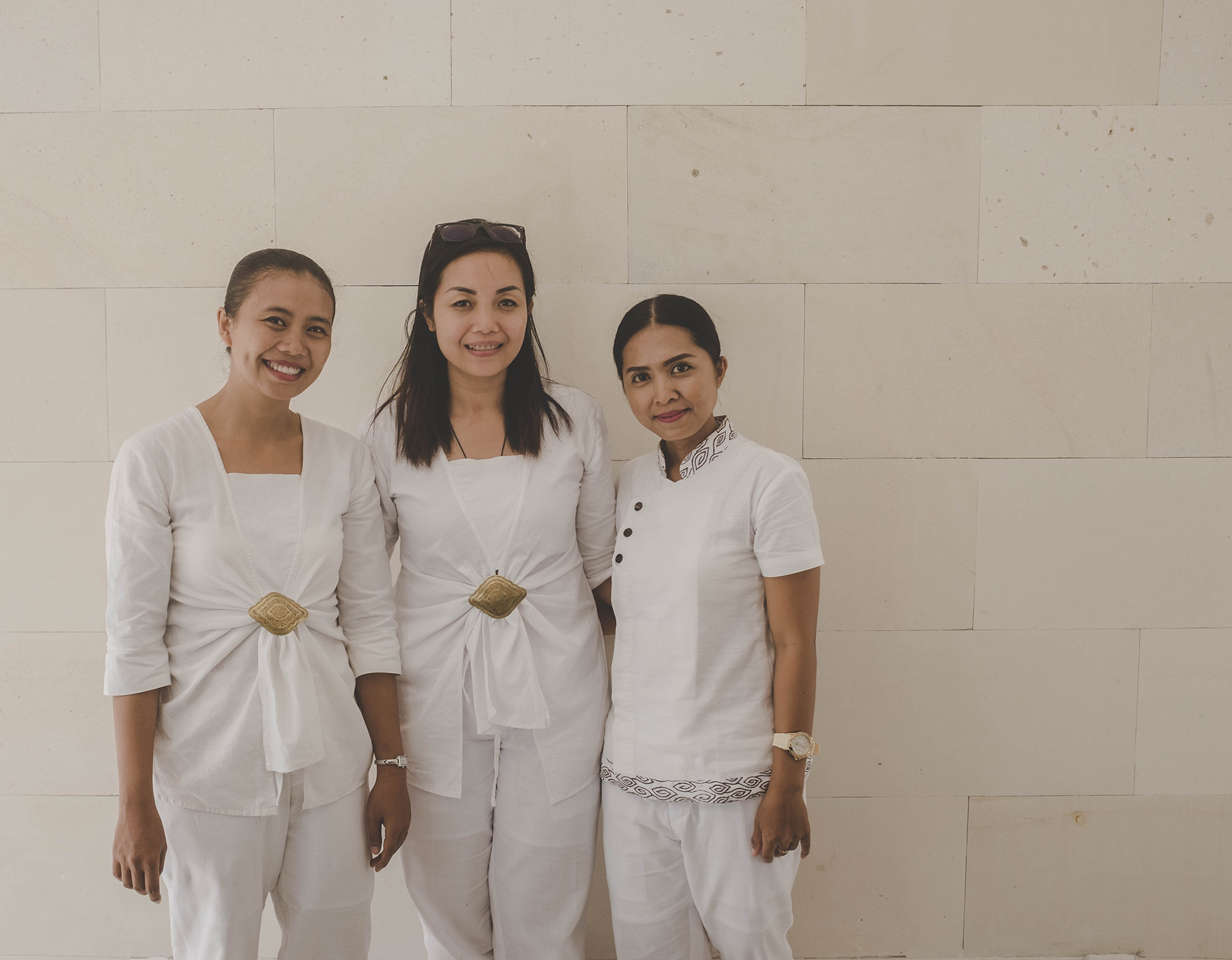 Alila villas uluwatu nectar pulse for Spa uniform indonesia